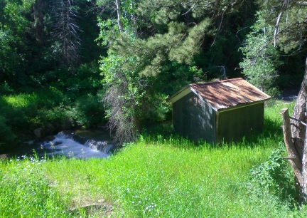 Creek Side Shack 2014-07-08