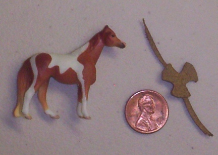 Breyer Horse Mini Whinie Saddle