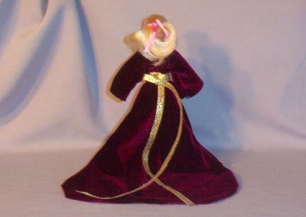 Breyer Doll Velvet Dress