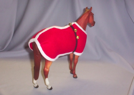 Breyer Santa Coat