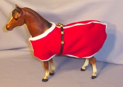 Santa Inspired Horse Coat - Prize for Nov Photo Contest 2010