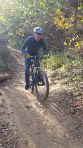 Jesse Single Tracking Castlewood State Park 2017-10-29