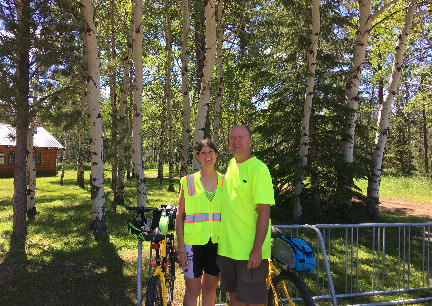 Mickelson Trail Both Directions Completed Dumont Trailhead 2017-07-01