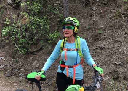 Marna Mickelson Trail Taking A Break 2016-06-01